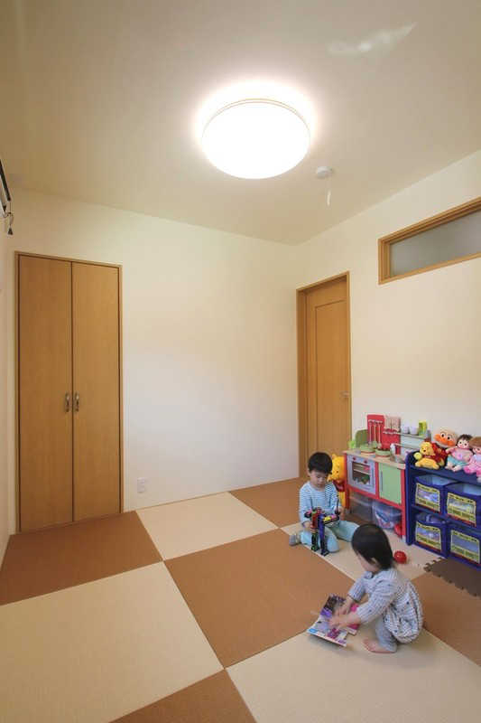 太陽光たっぷりのおひさま住宅 和室