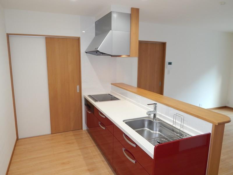 コンパクトで機能的な平屋 キッチン