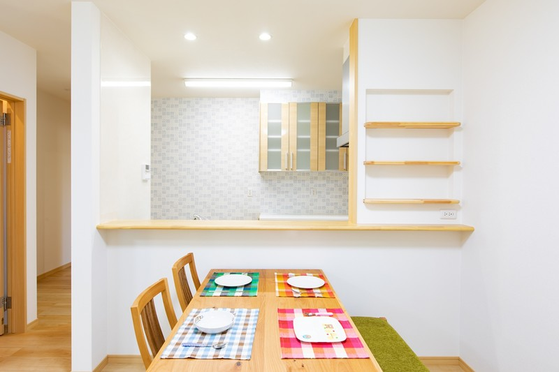 家づくりの人気アイテムが満載のモデル住宅 キッチン