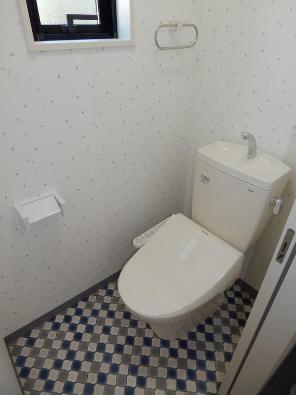メゾネットタイプの賃貸住宅 トイレ