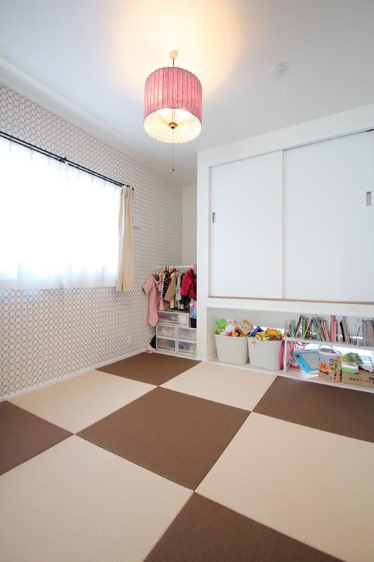 南欧風デザインの家 和室