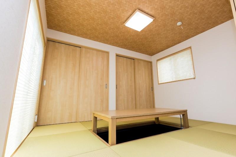 家づくりの人気アイテムが満載のモデル住宅 和室